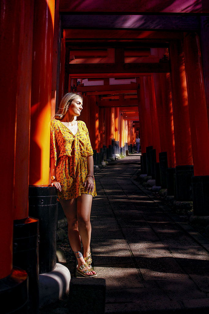 Claire / Privatshooting / Kyoto